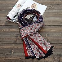 XBR l'automne et l'hiver écharpe collier mode tout match de style britannique hiver chaud épais de l'épaississement des hommes