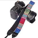 SYGA 1 Piece Blue Coloured DSLR Camera Shoulder Strap