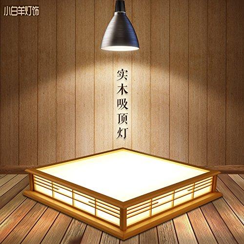 GQLB Minimalista 24W in legno massiccio di luce LED lampade di Wood (450*450*120mm), studio 3 luce di