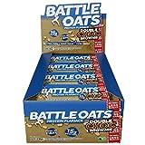 Barres protéinées Battle Oats sans gluten et riches en protéines, 12 barres de 70 g - White Chocolate Coconut - Chocolat blanc/noix de coco