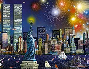 Sunsout Manhattan Celebration 1000 Piece Jigsaw Puzzle