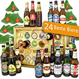 Bieradventskalender für Männer | Adventskalender 2018 24 Biersorten in Flaschen