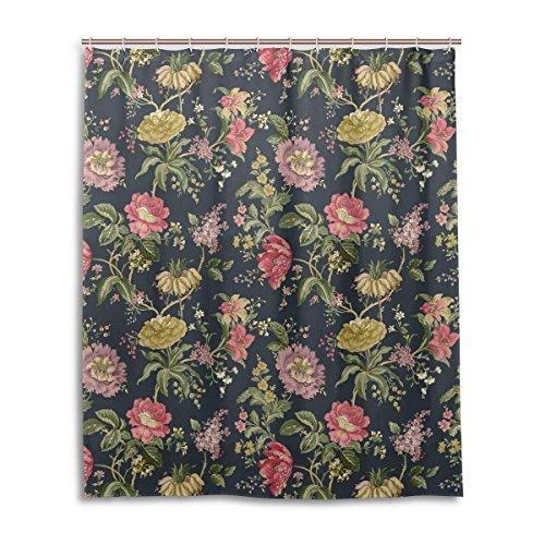 hang 152,4x 182,9cm, Vintage-Stil, Shabby Chic, Blumenmuster, aus Polyester, schimmelresistent ()