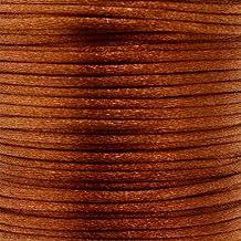 Cordón Cola De Rata marrón–2mm–25metros