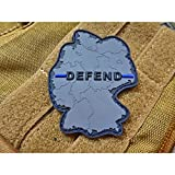 Defend Germany Patch, Thin Blue Line, Special Edition - Wir verteidigen Deutschland