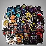 100 Stücke Keine Wiederholung Anime Dragon Ball Aufkleber Super Saiyan Aufkleber Auto Motorrad Gepäck Trolley Cartoon Graffiti Aufkleber