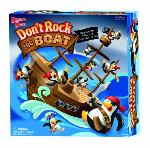 University Games Box- 01120 Don't Rock The Boat Game