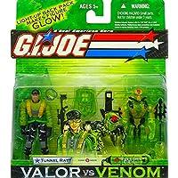 GI JOE Valor Vs. Venom - Túnel de ratas y EEL eléctrico - Figura de acción