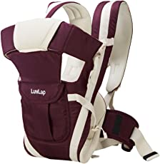 LuvLap Elegant Baby Carrier (Purple)