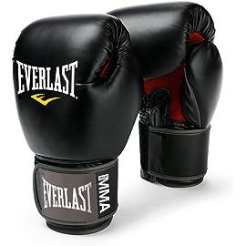 Everlast Pro Style Muay Thai Gloves, 12 Ounce  Black