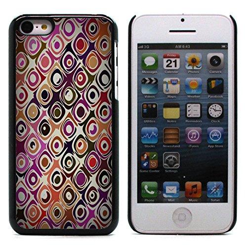 Graphic4You Grün Muster Harte Hülle Case Tasche Schutzhülle für Apple iPhone 5C Design #9