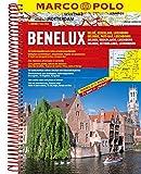 MARCO POLO Reiseatlas Benelux, Belgien, Niederlande, Luxemburg 1:200.000 (MARCO POLO Reiseatlanten) - Marco Polo