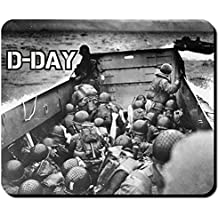 D-day Normandie 1944 alliierte sbarco US Army sbarco Boot Operazione militare foto WK 2 – Mouse Pad Computer Laptop PC # 10251 m