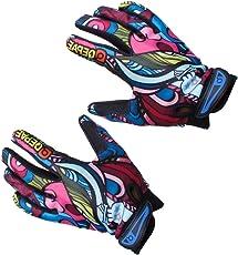 Generic Bicycle Full Finger Warm Bike Sports Gloves XL