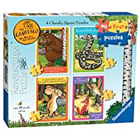 Ravensburger My First Puzzle, The Gruffalo (2, 3, 4 & 5pc) Jigsaw Puzzles