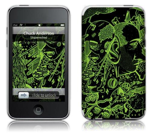 MusicSkins Schutzfolie für Apple iPod Touch 2G/3G, Motiv Chuck Anderson Shipwreck Andersons Apple