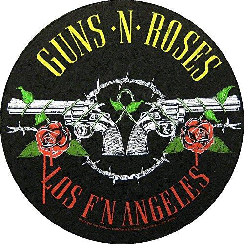 Guns N 'Roses toppa Back patch # 6Los F N Angeles nero taglia unica
