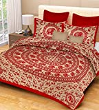 Pure Comfort Double Bedsheet with 2 Pill...