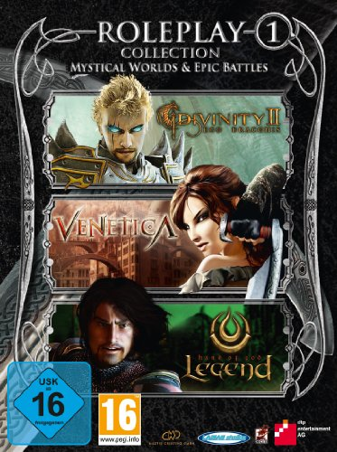 Roleplay Collection 1: Mystical Worlds & Epic Battles (Divinity II - Ego Draconis, Venetica, Legend - Hand of God) - PC Ego-collection