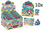 10 Tüten Filly Mermaids Glitter Golden Edition (geschlossen) von KOGU 10 Filly Booster + Gratis Filly Fairy Sticker
