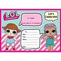 Game LOL DOLL BIRTHDAY PARTY INVITES INVITATIONS X 10 PACK