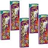 Nestor Parrot Bird Food 5 x 2 Sticks XXL Nibbling Bars with Fruit and Nut