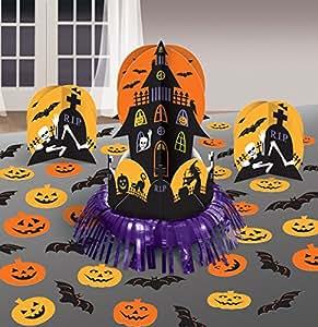Décorations de table Halloween Maison Hantée