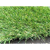 Berlin 26mm Pile Height Artificial Grass | Choose from 47 Sizes on this Listing | Cheap Natural & Realistic Looking Astro Garden Lawn | Sample of Cheap High Density Fake Turf