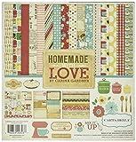 Echo Park Paper Carta Bella Collection Kit 12Zoll x 12Zoll, Homemade mit Love
