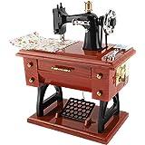 Carillon Macchina da Cucire Stile Collezione Anniversario Regalo di Compleanno Decorazioni da tavola Carillon Regali per Nata