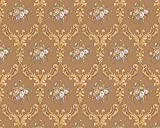 Tapete Chateau 4 AS Création Satintapete 95459-2 Barock Floral braun gold