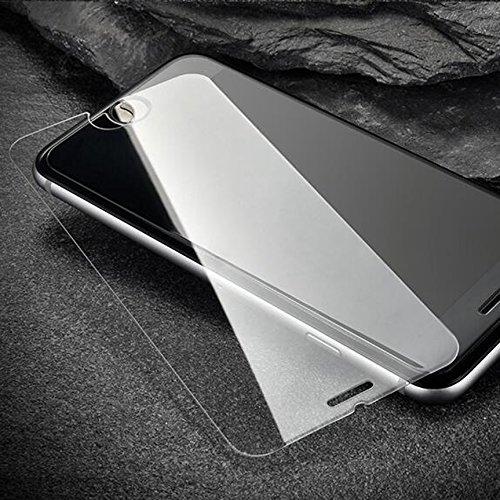 Iphone 7 Plus 5-in-1 Hülle,SUNANY [Hart-PC Rückenschale + GemütlichLeder-pu Schicht + Weich TPU Rahmen + Eingebaut Magnet + Gehärtetes schutzfolie] 360-Grad Schutzfolie für Apple7 plus,5.5zoll,Braun Blau