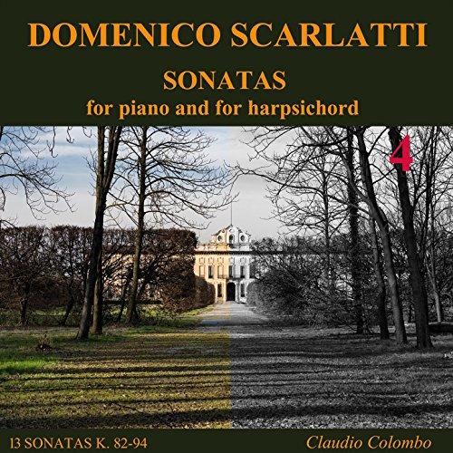 Sonata K. 86 in C Major - Andante moderato, for harpsichord