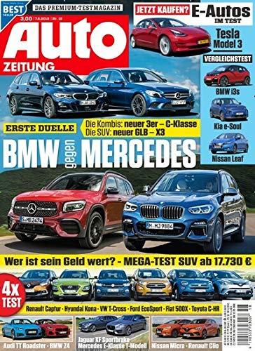 """Auto Zeitung 18/2019 \""""BMW gegen Mercedes\"""""""