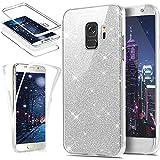 HMTECH Galaxy J2 Pro 2018 Case Glitter Bling Luxury Crystal