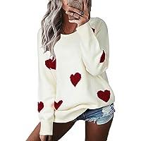 YOINS Maglione Donna Invernale Oversize Felpa Scollo a V Pullover Elegante Manica Lunga Maglioni Asimmetrica Maglia…
