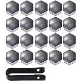 Gebildet Haute qualité Boulon Ecrou Couvre 17 mm, Capuchons Protection Hexagonal pour écrous de Roue, avec Outil Demontage (P
