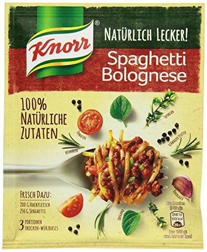 Knorr Natürlich Lecker Spaghetti Bolognese Fix 3 Portionen