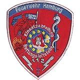 Feuerwehr Db Bahnfeuerwehr Deutsche Bundesbahn Uniform Abzeichen Aufnäher Auto