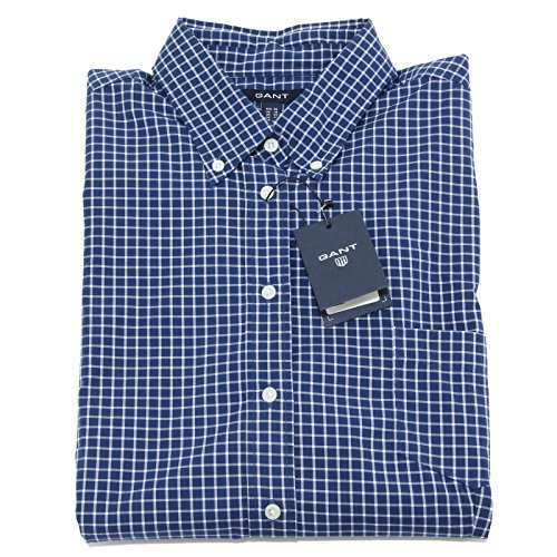 6650M camicia donna blu GANT women camicie men shirts TAGLIE ITALIANE [50]