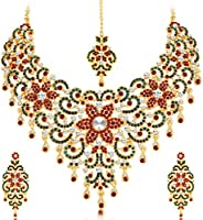 Sukkhi Jewellery Sets for Women (Golden) (2176NADM2450)