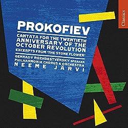 Prokofieff: Kantate Zum 20. Jahrestag Der Oktoberrevolution+