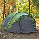 Automatische Instant Outdoor Campingzelt 100% Wasserdicht Moskito-Proof Anti UV 3-6 Personen Zelte,Armygreen