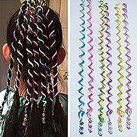 SwirlColor 6 PCS/Set Women Girl Hair Styling Twister Clip Braider Tool DIY Accessories
