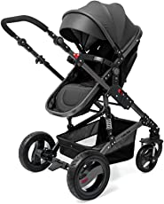 LuvLap Premier Stroller and Pram (Black)