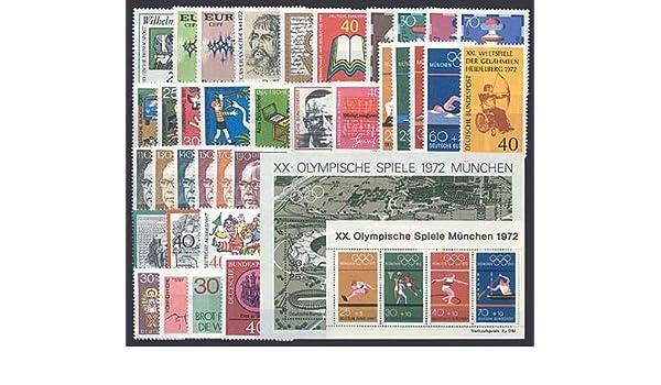 Goldhahn BRD Bund Jahrgang 1970 postfrisch ** MNH komplett Briefmarken f/ür Sammler