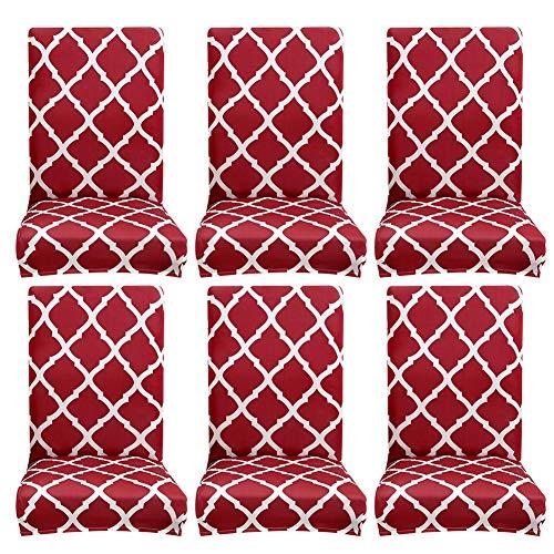 Demiawaking coprisedie con schienale elasticizzato vestisedia universale fodere per sedie moderne stampa copertura della sedia per sala da pranzo casa hotel