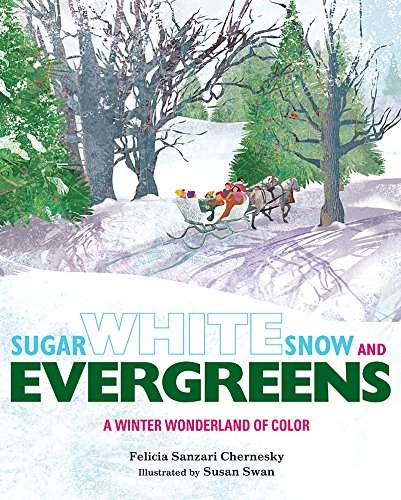 Evergreens: A Winter Wonderland of Color (English Edition) ()