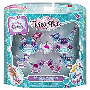 Spin Master Twisty Petz Family 6 Pack - Kits de joyería para niños (Pulsera, 4 año(s), Colores Surtidos, Niño, Chica, China)