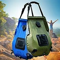 CFtrum Portable 20L PVC Solar Garten und Camping Dusche